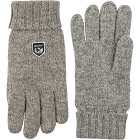 Hestra Basic Wool Handschuhe grey
